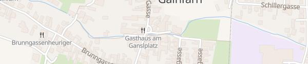 Karte Ganslplatz Bad Vöslau