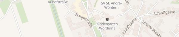 Karte Gemeindeamt Sankt Andrä-Wördern