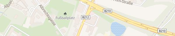 Karte Autohaus Brammen Baden
