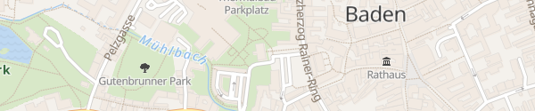 Karte Touristeninfo Baden
