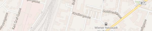 Karte Fahrschule Haltau Wiener Neustadt