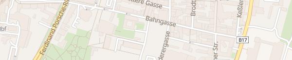 Karte Hilton Garden Inn Wiener Neustadt