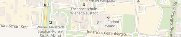 Karte FH Wiener Neustadt Wiener Neustadt