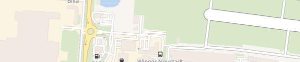 Karte Hotel Pension Steinfeld Wiener Neustadt