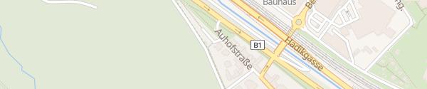 Karte City - Auhofstraße Wien