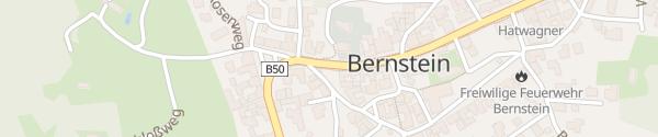 Karte Pfarramt Bernstein