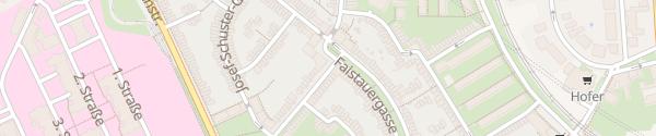 Karte City -  Camillianergasse Wien