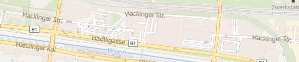 Karte ÖAMTC Stützpunkt Wien West Wien