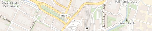 Karte Wipark Garage Wien