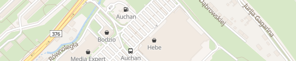 Karte Auchan Wieniawskiego Wałbrzych