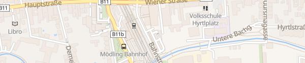 Karte Kundengarage City Center Mödling
