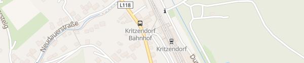 Karte Bahnhof Kritzendorf