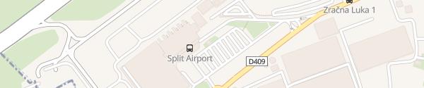 Karte Zračna luka Split Kaštel Štafilić