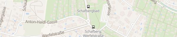 Karte City - Schafbergbad Wien