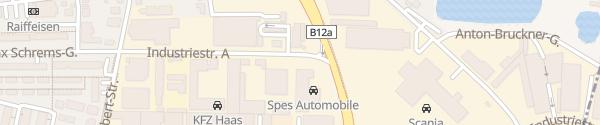 Karte Spes Automobile Brunn am Gebirge