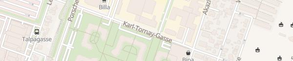 Karte City - Karl-Tornay-Gasse Wien