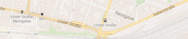 Karte HB1 Design Hotel Wien