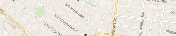 Karte City - Koberweingasse Wien