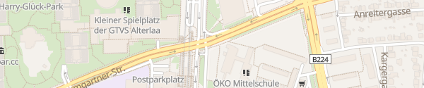 Karte City - Anton-Baumgartner-Straße Wien