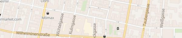 Karte Manner-Garage Wien