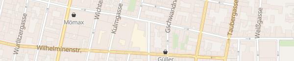 Karte City - Horneckgasse Wien