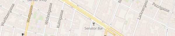 Karte City - Hernalser Hauptstraße Wien