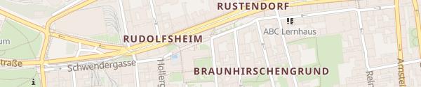 Karte City - Dreihausgasse Wien