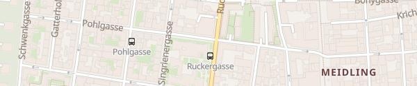 Karte City - Pohlgasse Wien