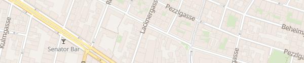 Karte City - Rötzergasse Wien