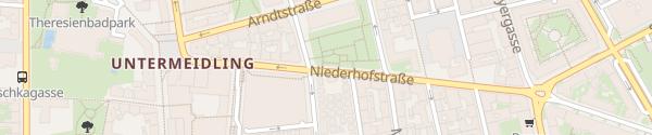 Karte City - Niederhofstraße Wien
