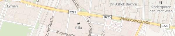 Karte City - Am Europlatz Wien