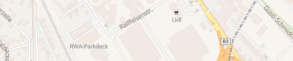 Karte Lagerhaus - hinter dem Fachmarkt Korneuburg