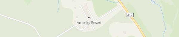 Karte Amenity Resort Deštné v Orlických horách