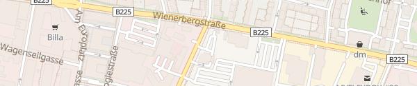 Karte ÖAMTC Stützpunkt Wienerberg Wien