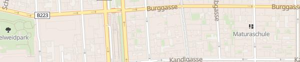 Karte City - Wimbergergasse Wien