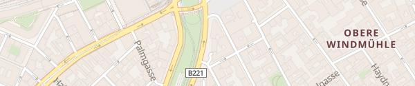 Karte City - Mariahilfer Gürtel Wien