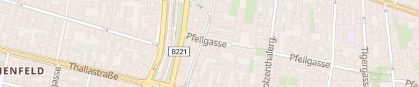Karte City - Pfeilgasse Wien