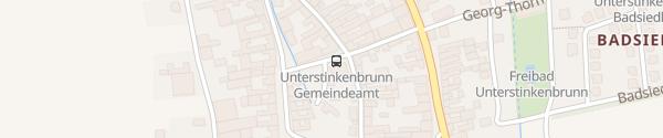 Karte Gemeindeamt Unterstinkenbrunn