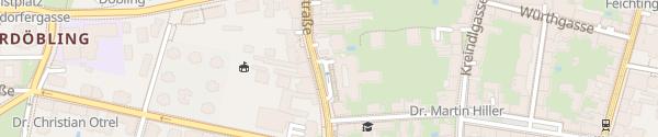 Karte City - Billrothstraße Wien