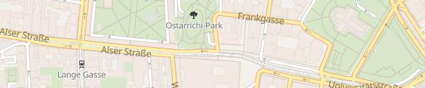Karte Otto Wagnerplatz Tiefgarage Wien