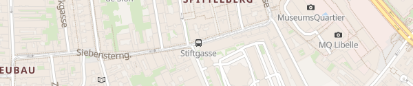 Karte City - Siebensterngasse Wien