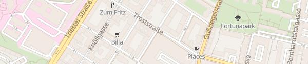 Karte City - Braunspergengasse Wien