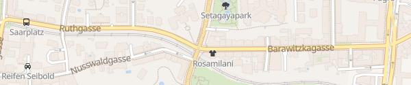 Karte City - Hohe Warte Wien