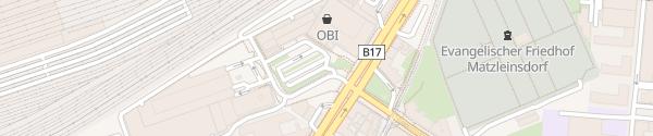 Karte Tiefgarage OBI Wien