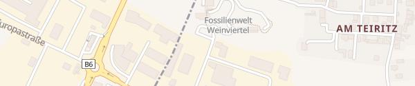 Karte Fossilienwelt Weinviertel Stetten