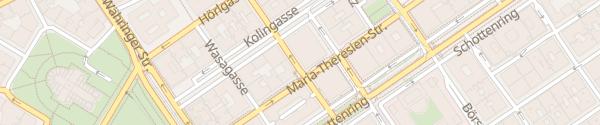 Karte City - Liechtensteinstraße Wien