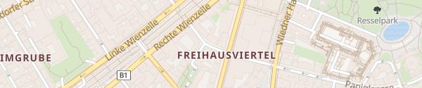 Karte City - Faulmanngasse Wien