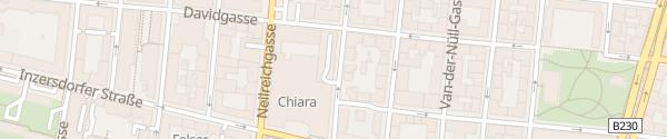 Karte Lidl Davidgasse Wien