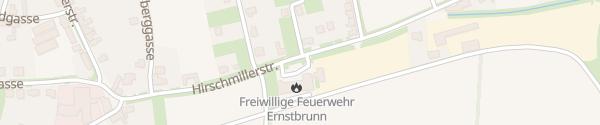 Karte Feuerwehr Ernstbrunn