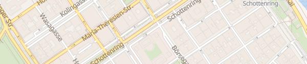 Karte City - Börse Wien